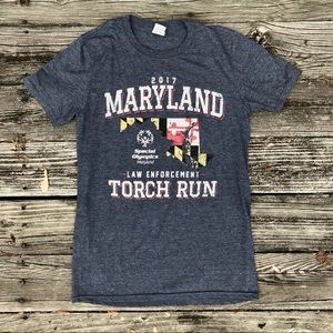Maryland Law Enforcement Torch Run Tee